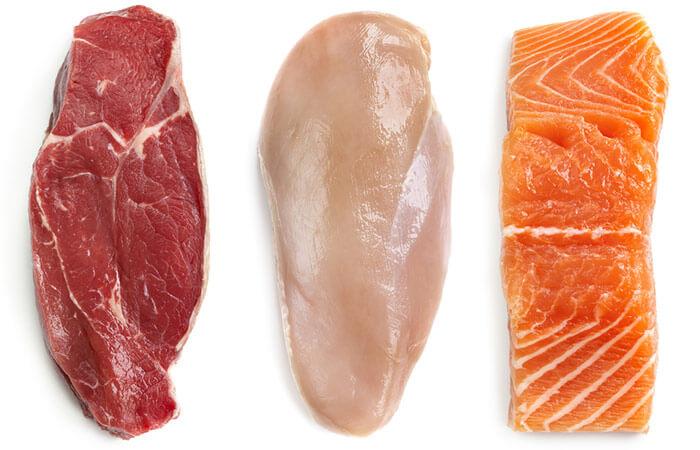 رژیم غذایی تیروئید - پروتئین بدون چربی