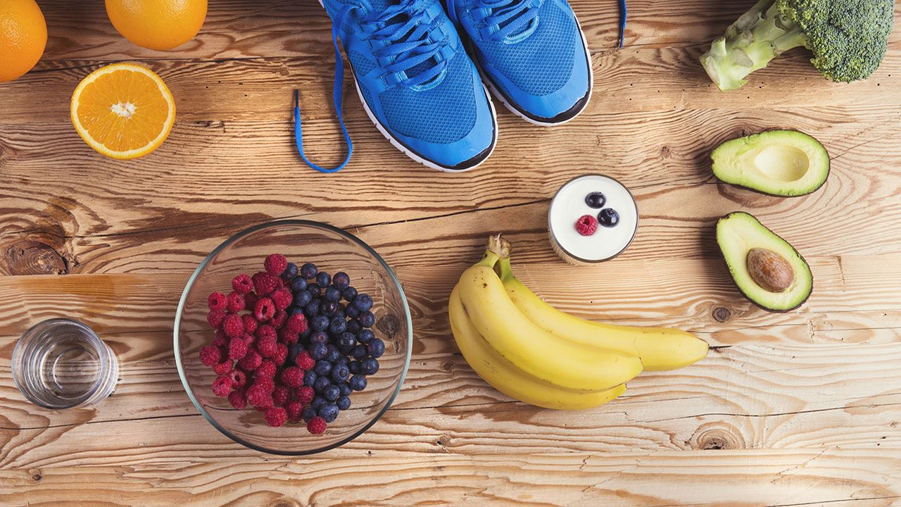 رژیم غذایی برای ورزش دو