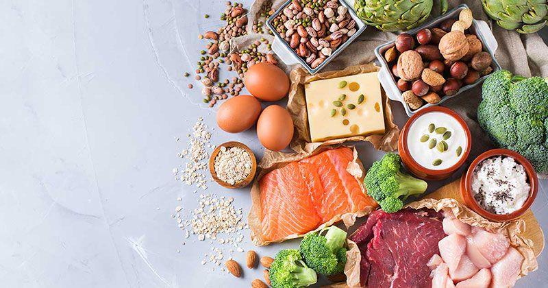 رژیم غذایی برای کاهش تراکم استخوان - نمونه رژیم غذایی