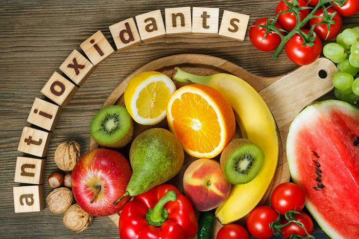 رژیم غذایی برای کبد چرب - آنتی اکسیدان ها