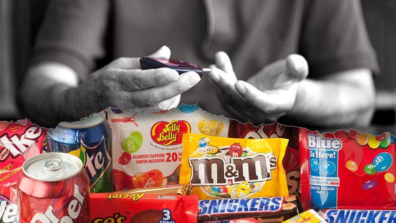 رژیم غذایی دیابت - شیرینی ها
