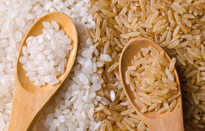رژیم برنج - برنج قهوه ای یا سفید