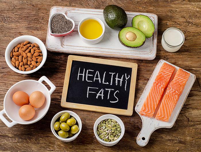 رژیم غذایی دیابت -چربی های سالم